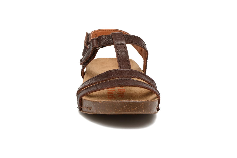 Sandales et nu-pieds Art I Breathe 946 Marron vue portées chaussures