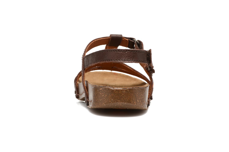 Sandales et nu-pieds Art I Breathe 946 Marron vue droite