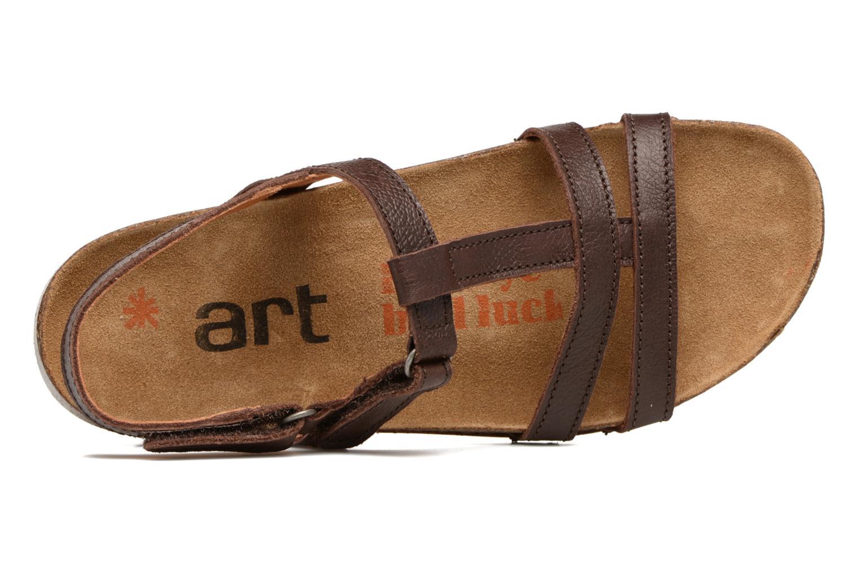 Sandales et nu-pieds Art I Breathe 946 Marron vue gauche