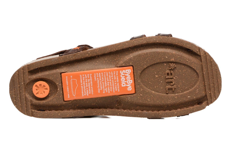 Sandales et nu-pieds Art I Breathe 946 Marron vue haut