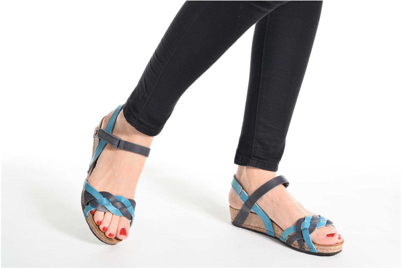 Sandales et nu-pieds Art Pompei 735 Bleu vue bas / vue portée sac