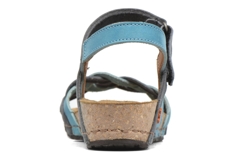 Sandales et nu-pieds Art Pompei 735 Bleu vue droite