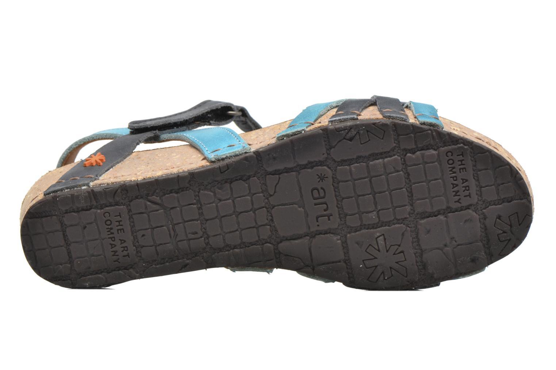 Sandales et nu-pieds Art Pompei 735 Bleu vue haut