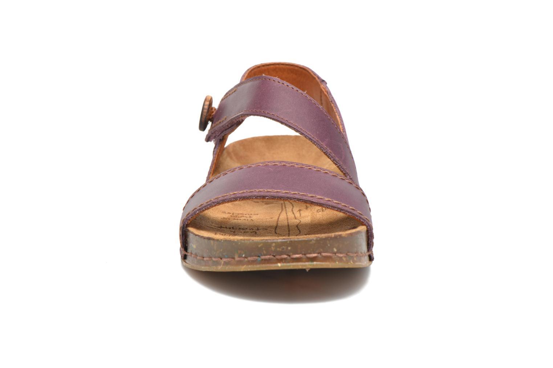 Sandali e scarpe aperte Art We Walk 868 Viola modello indossato