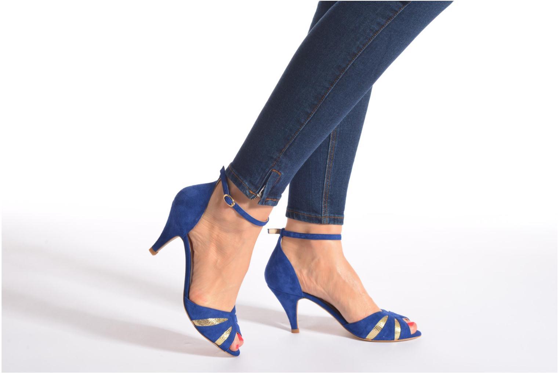 Sandales et nu-pieds Petite mendigote Barbade Beige vue bas / vue portée sac