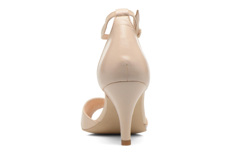 Sandales et nu-pieds Petite mendigote Barbade Beige vue droite