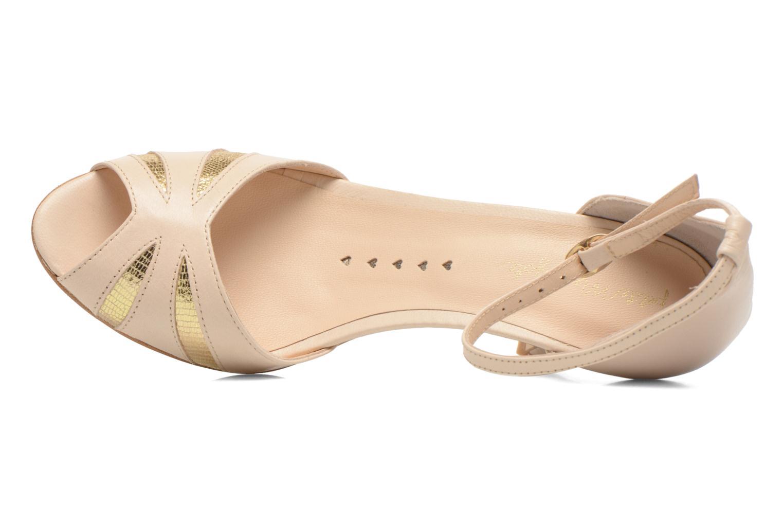 Sandales et nu-pieds Petite mendigote Barbade Beige vue gauche