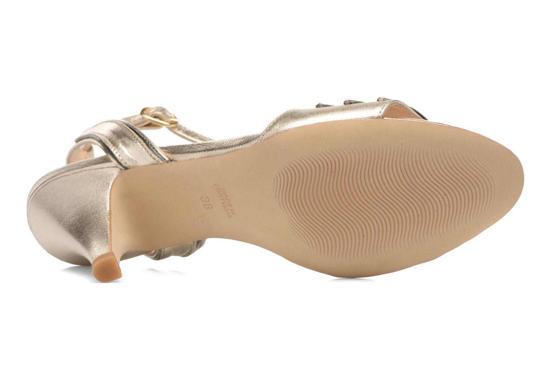 Sandales et nu-pieds Petite mendigote Maldive Or et bronze vue haut