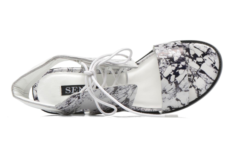 Sandales et nu-pieds SENSO Valleri VII Blanc vue gauche