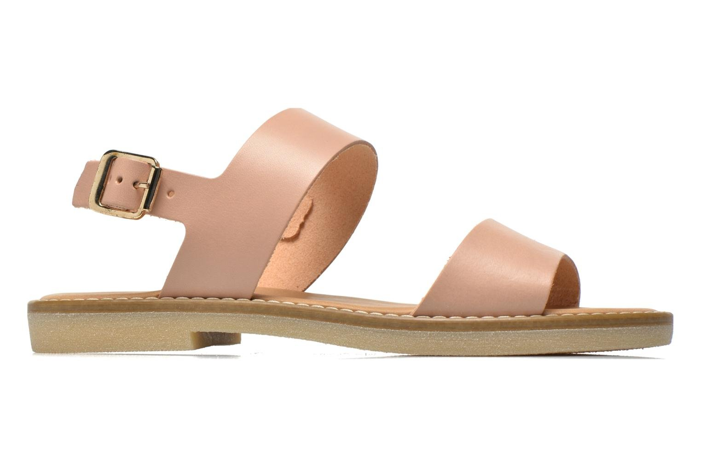 Sandalen Pieces Psjennifer Beige achterkant