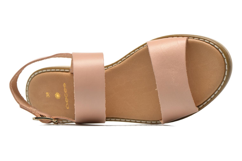 Sandalen Pieces Psjennifer Beige links