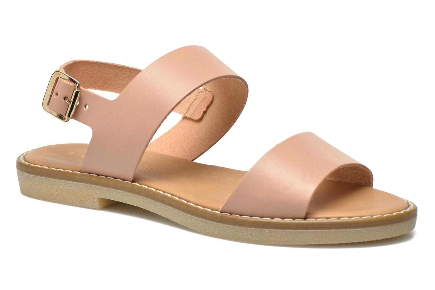 Sandalen Pieces Psjennifer Beige detail