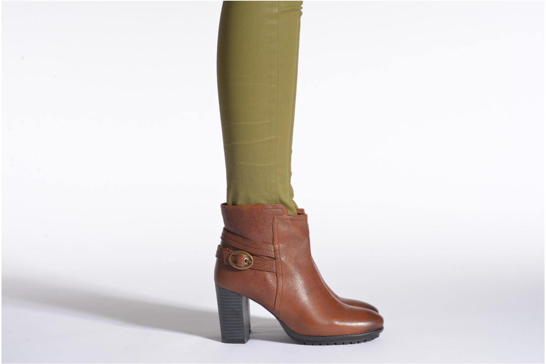 Bottines et boots Initiale Paris Iceland Noir vue bas / vue portée sac