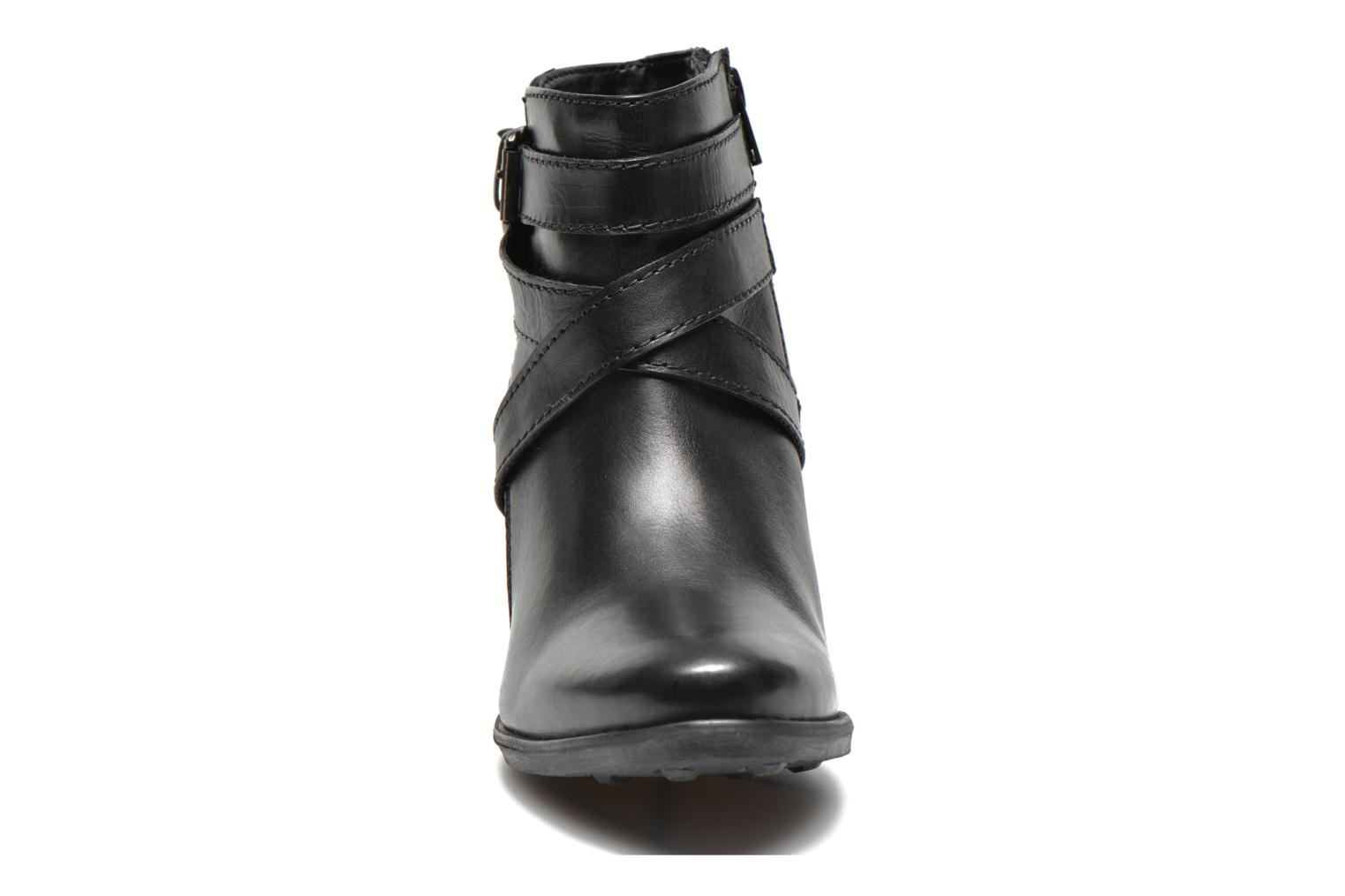 Ankle boots Initiale Paris Marble Black model view