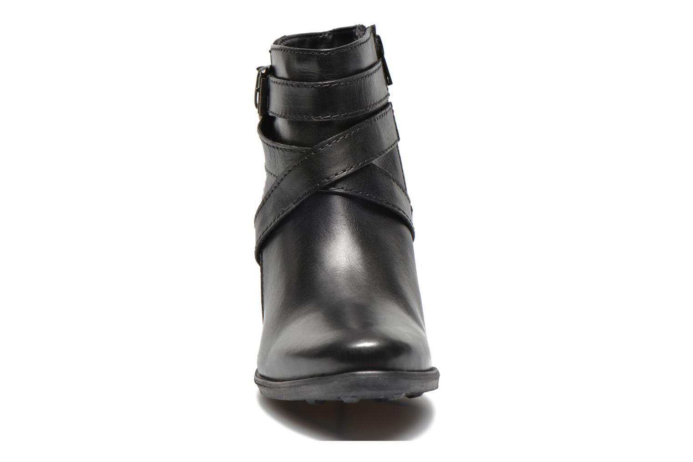 Bottines et boots Initiale Paris Marble Noir vue portées chaussures