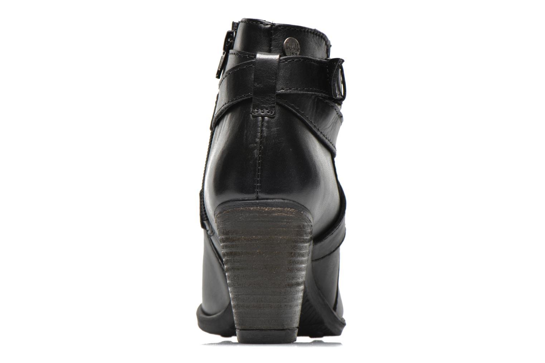 Bottines et boots Initiale Paris Marble Noir vue droite