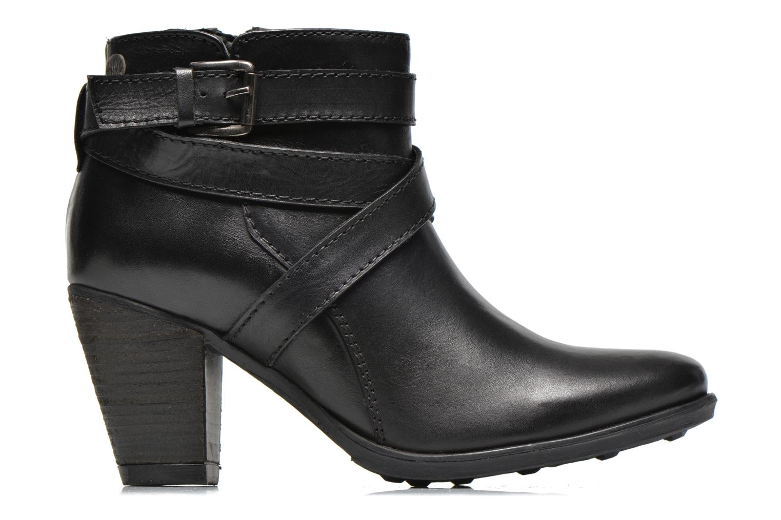 Ankle boots Initiale Paris Marble Black back view