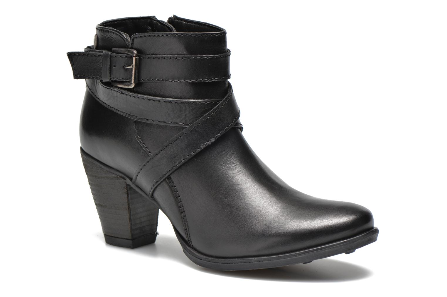 Ankle boots Initiale Paris Marble Black detailed view/ Pair view