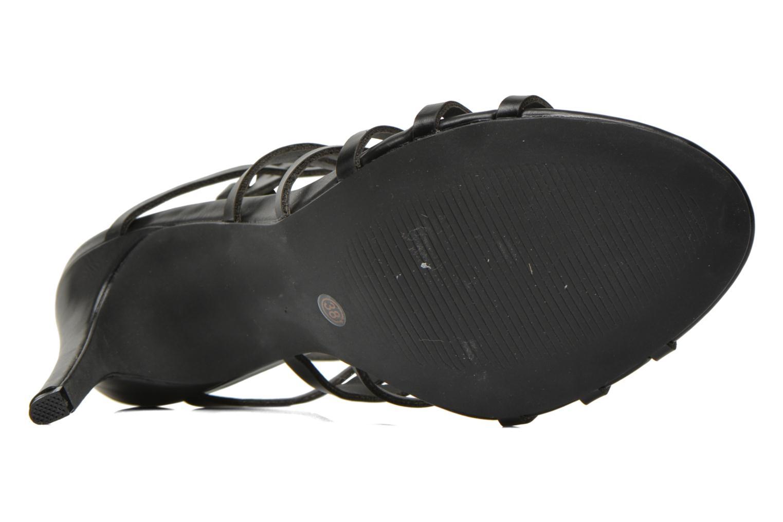 Sandales et nu-pieds Elle Maspero Noir vue haut