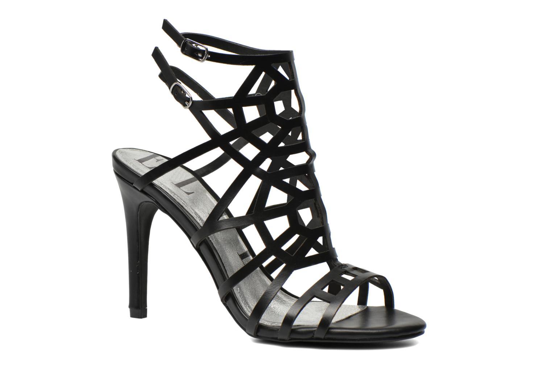 Sandales et nu-pieds Elle Maspero Noir vue détail/paire