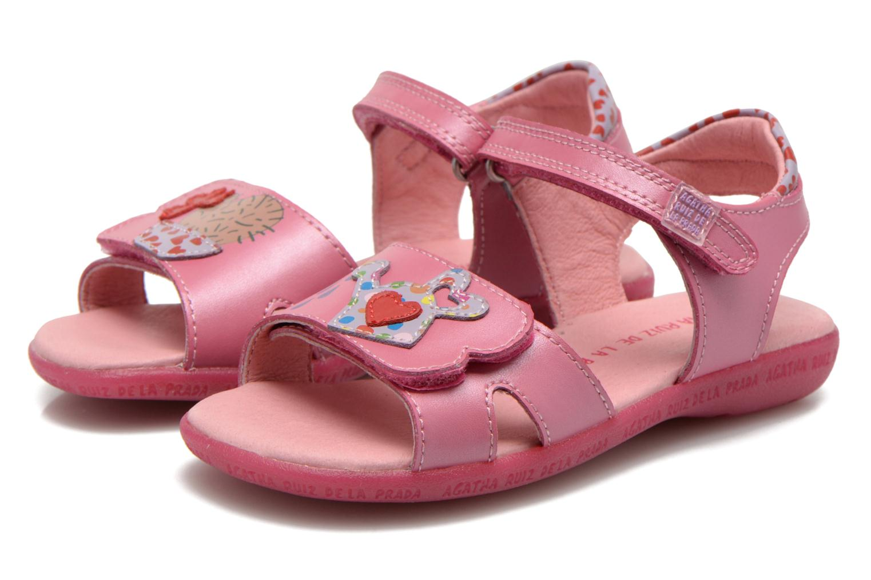 Sandalen Agatha Ruiz de la Prada Jardino rosa 3 von 4 ansichten