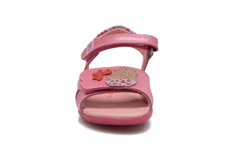 Sandalen Agatha Ruiz de la Prada Jardino rosa schuhe getragen