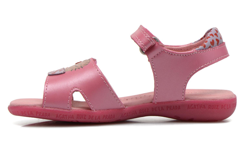 Sandalen Agatha Ruiz de la Prada Jardino Roze voorkant
