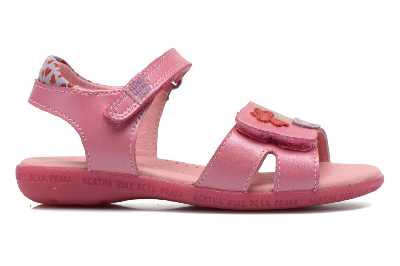 Sandalen Agatha Ruiz de la Prada Jardino Roze achterkant