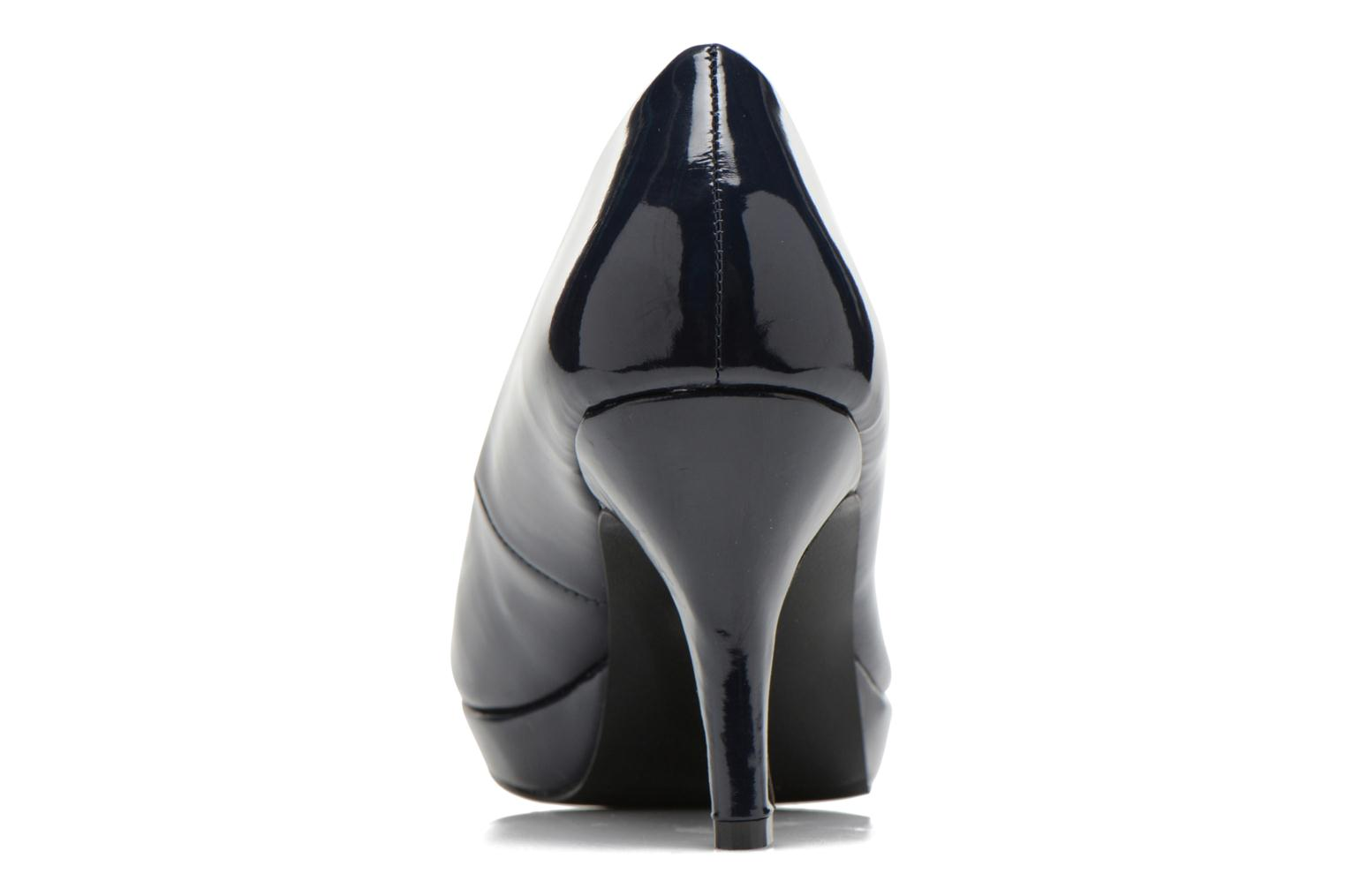 Escarpins I Love Shoes Kiform Bleu vue droite