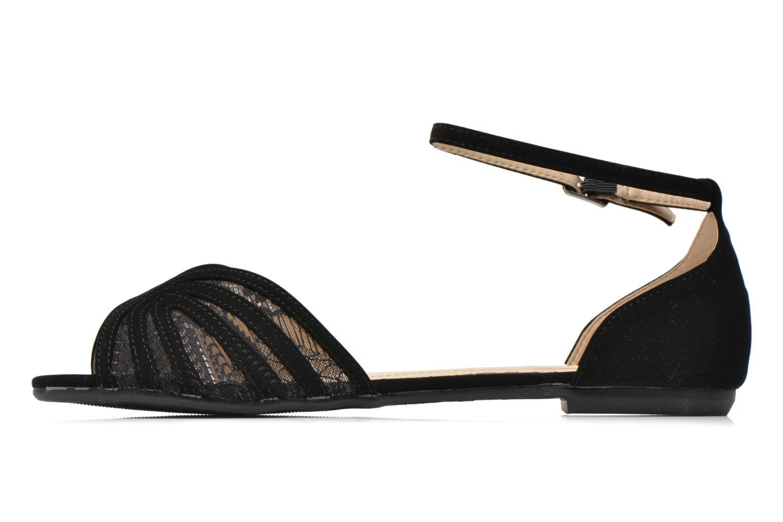 Sandals I Love Shoes Kivipa Black front view