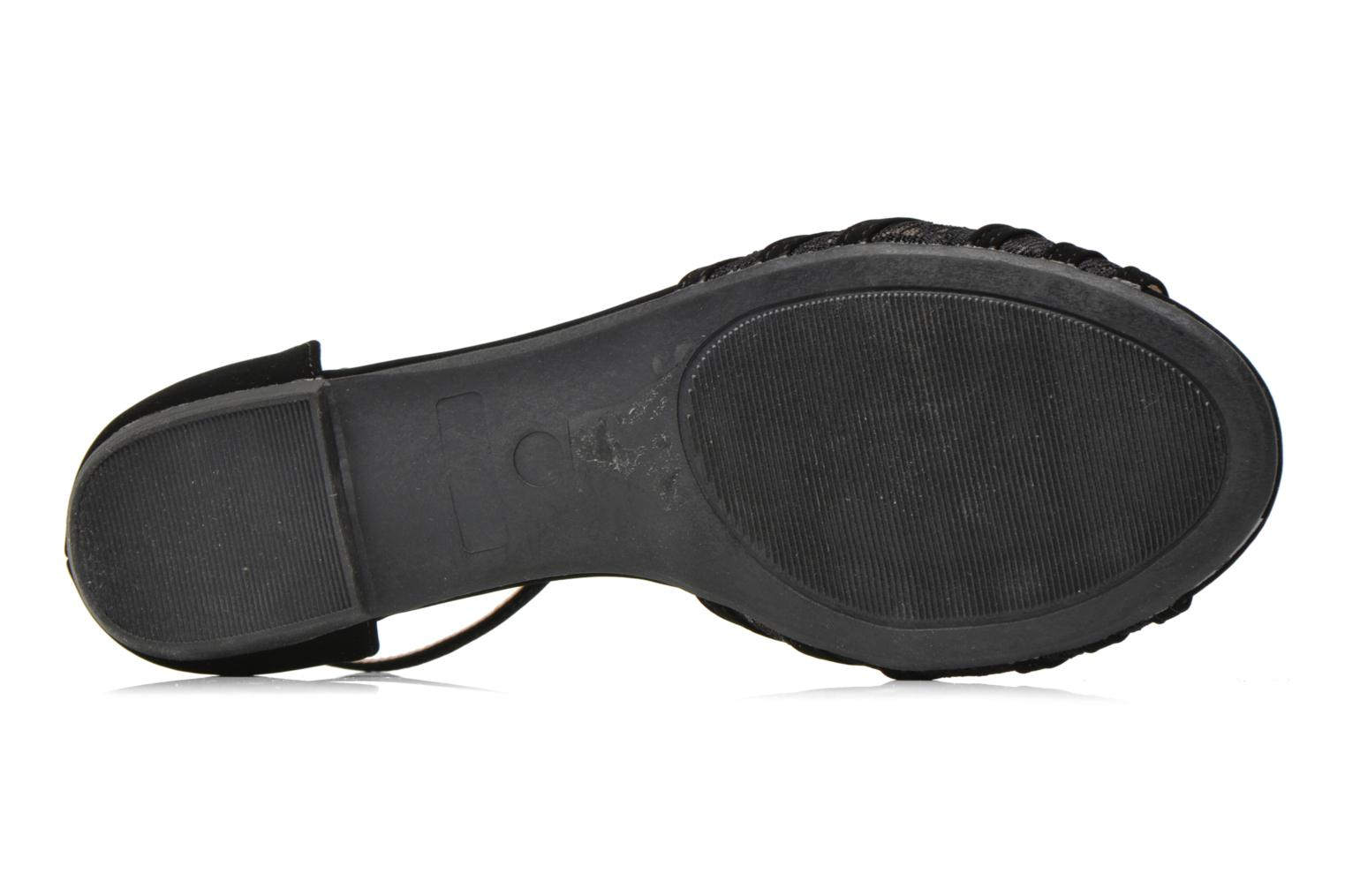 Sandals I Love Shoes Kivipa Black view from above