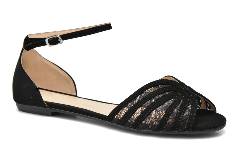 Sandalen I Love Shoes Kivipa Zwart detail