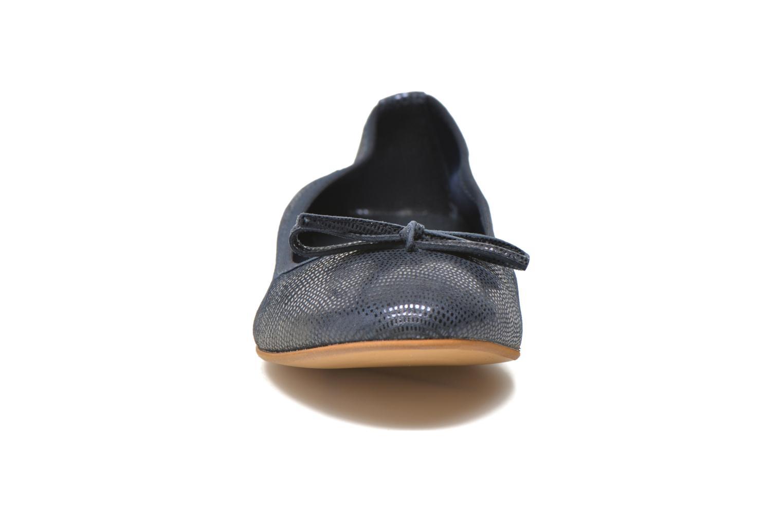 Ballerines JB MARTIN Vahiti Bleu vue portées chaussures