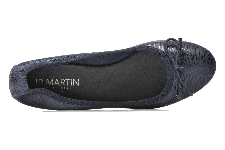 Ballerines JB MARTIN Vahiti Bleu vue gauche