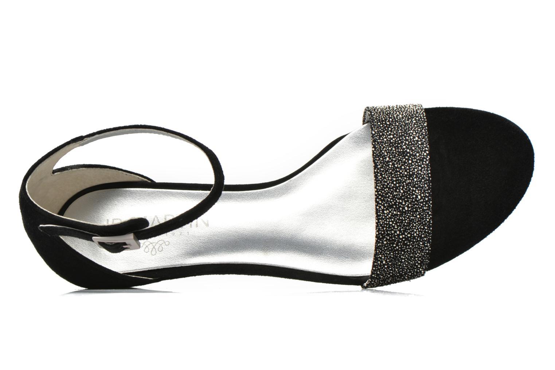 Icilda Chevre Velours Noir Galucha White
