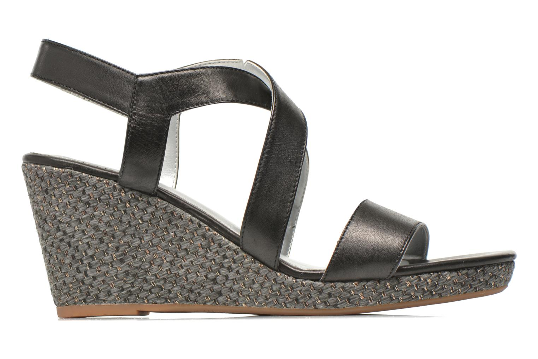Sandals JB MARTIN Quetza Black back view