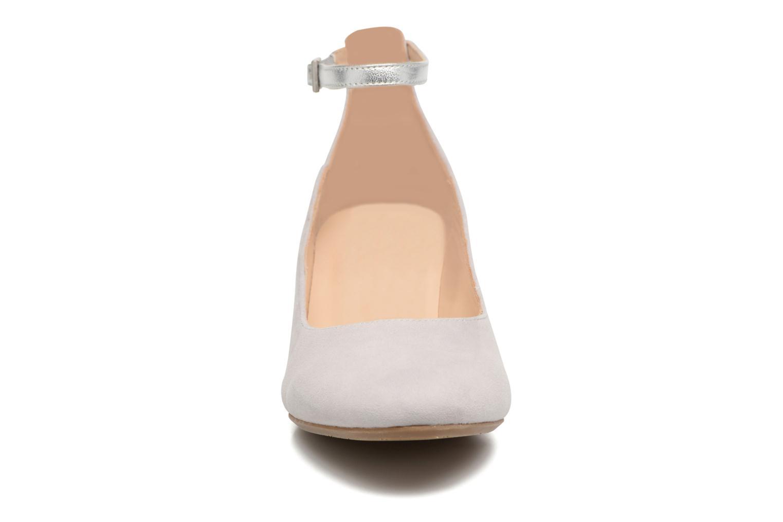 Escarpins JB MARTIN 1Galine Gris vue portées chaussures