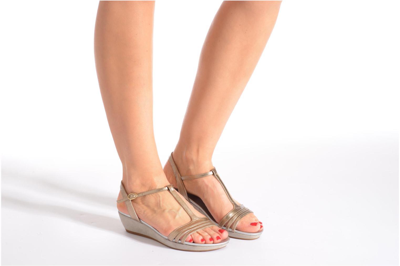 Sandali e scarpe aperte JB MARTIN Benji Oro e bronzo immagine dal basso