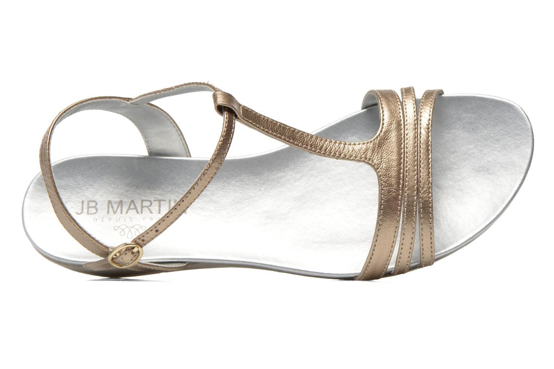 Sandali e scarpe aperte JB MARTIN Benji Oro e bronzo immagine sinistra