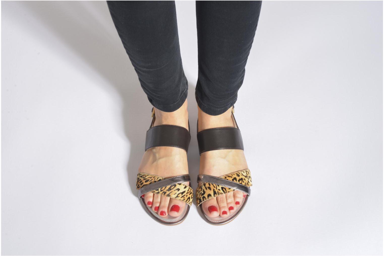 Sandales et nu-pieds JB MARTIN Frabuge Multicolore vue bas / vue portée sac