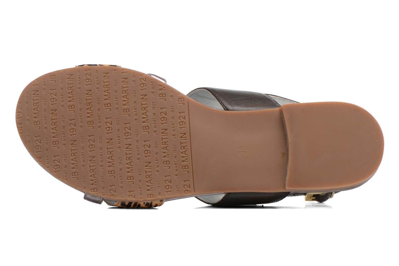 Sandales et nu-pieds JB MARTIN Frabuge Multicolore vue haut