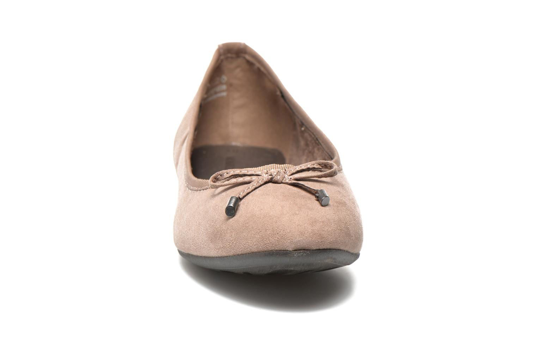 Ballerines Marco Tozzi Maëly 2 Gris vue portées chaussures