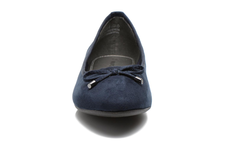 Ballerines Marco Tozzi Maëly 2 Bleu vue portées chaussures