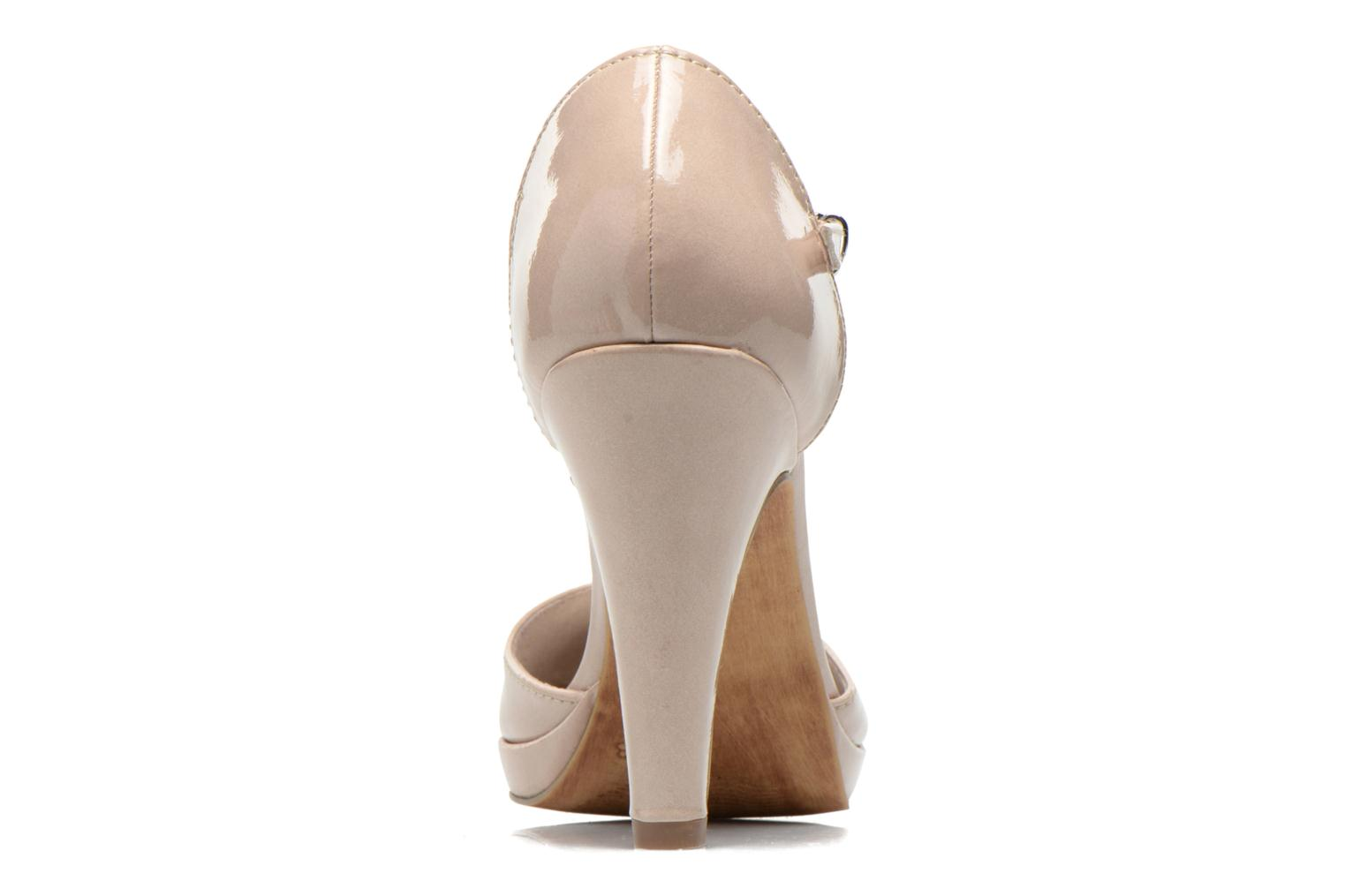 High heels Marco Tozzi Talia Beige view from the right