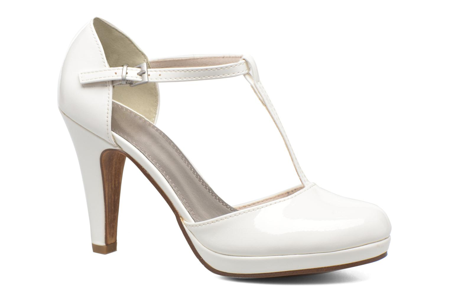 High heels Marco Tozzi Talia White detailed view/ Pair view