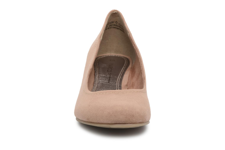 Escarpins Marco Tozzi Imit 2 Beige vue portées chaussures