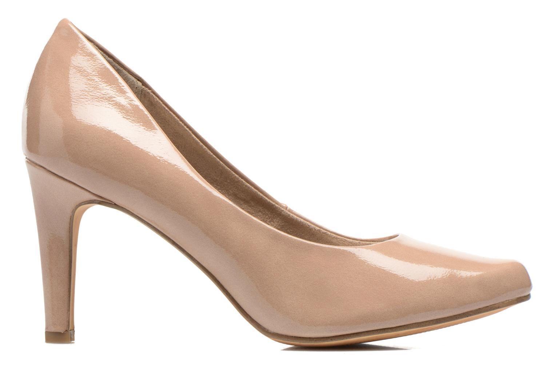 High heels Marco Tozzi Erodia Beige back view
