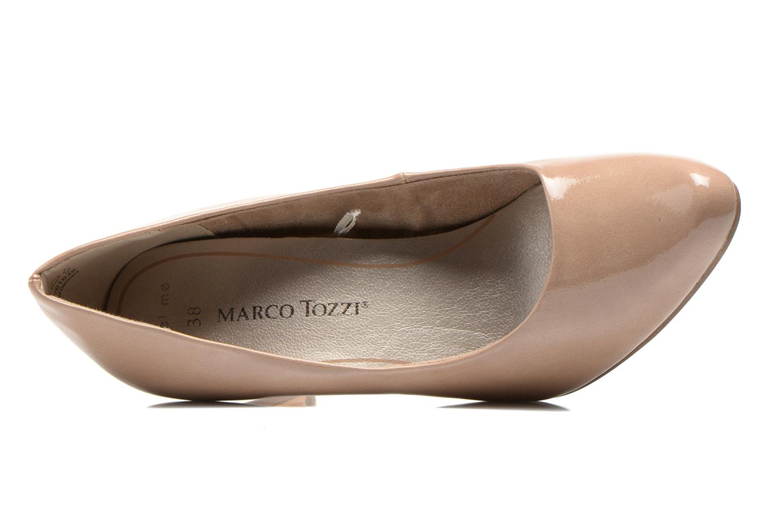 High heels Marco Tozzi Erodia Beige view from the left