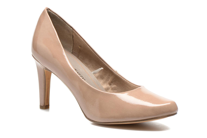 High heels Marco Tozzi Erodia Beige detailed view/ Pair view
