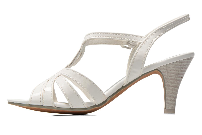 Sandales et nu-pieds Marco Tozzi Anafi Blanc vue face